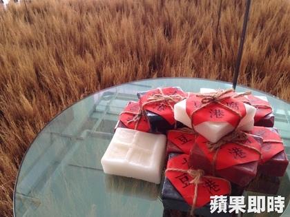 傳統肥皂經過復古包裝,展現全新風貌