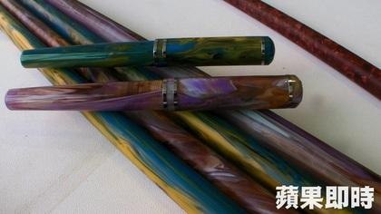 不同材質呈現鋼筆的多樣風貌